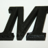 All Letters A-Z Bookman Old Style print image