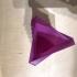 zig zag triangle vase image
