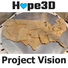 Project Vision: USA Braille Map