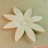 flowers: Aster - 3D printable model image