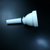 Trombone Mouthpiece 26.26 mm or 1.034 in, throat 21/64 image