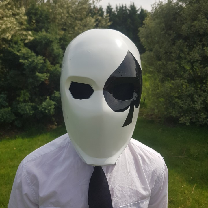 3D Printable Fortnite High Stakes Wild Card Mask By Jason