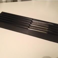 Scalpel tray
