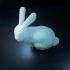 Pixel Bunny print image