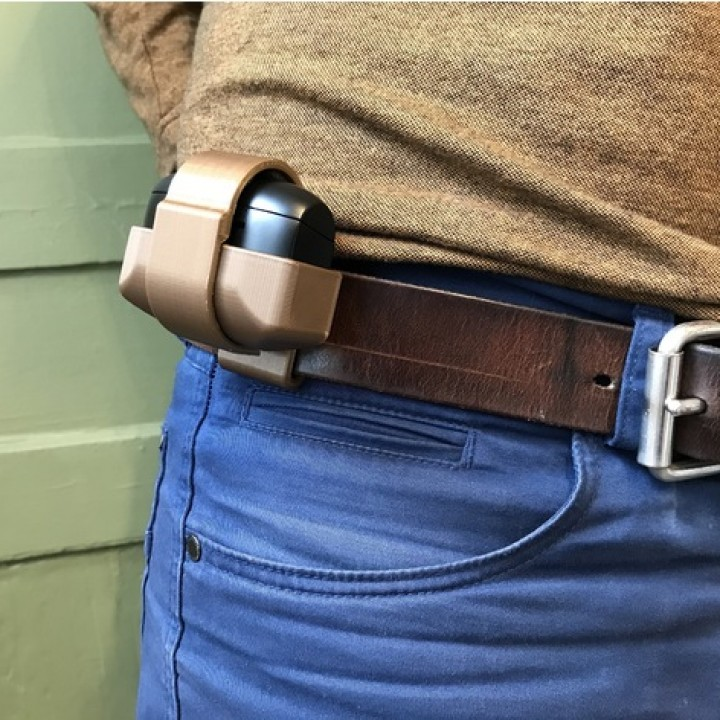 3D Printable Jabra Elite 65t - Belt Clip by Egon Heuson