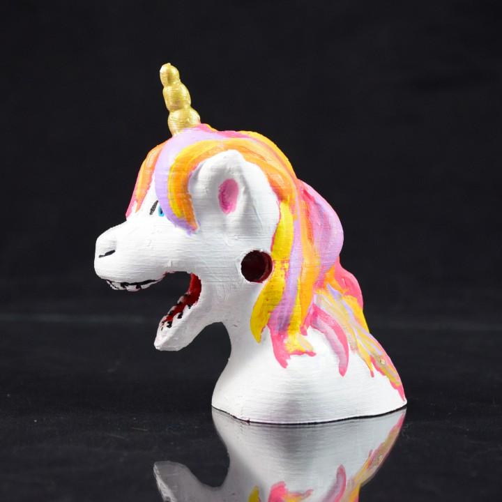 Vomiting Unicorn Pencil Sharpener