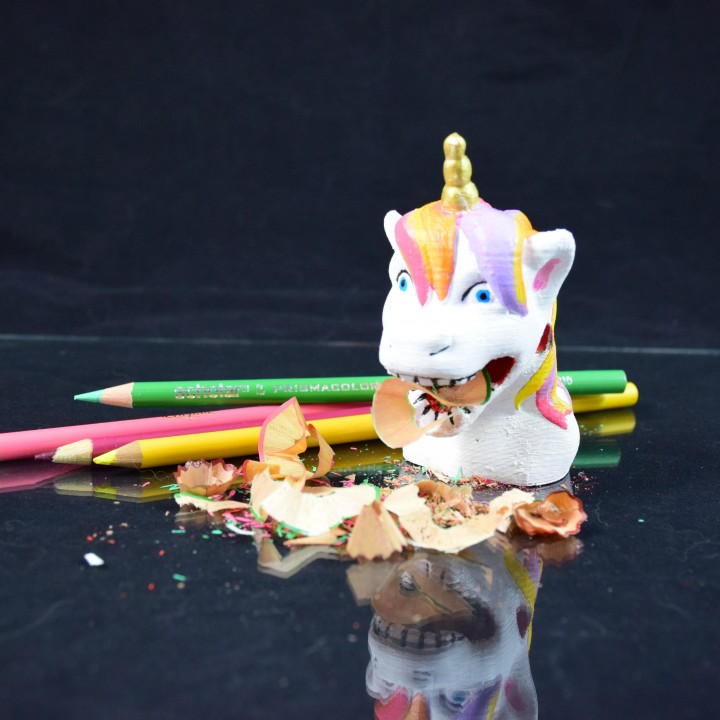 Vomiting Unicorn Pencil Sharpener