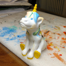 Picture of print of Sitting Unicorn Pencil Sharpener