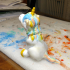 Sitting Unicorn Pencil Sharpener print image