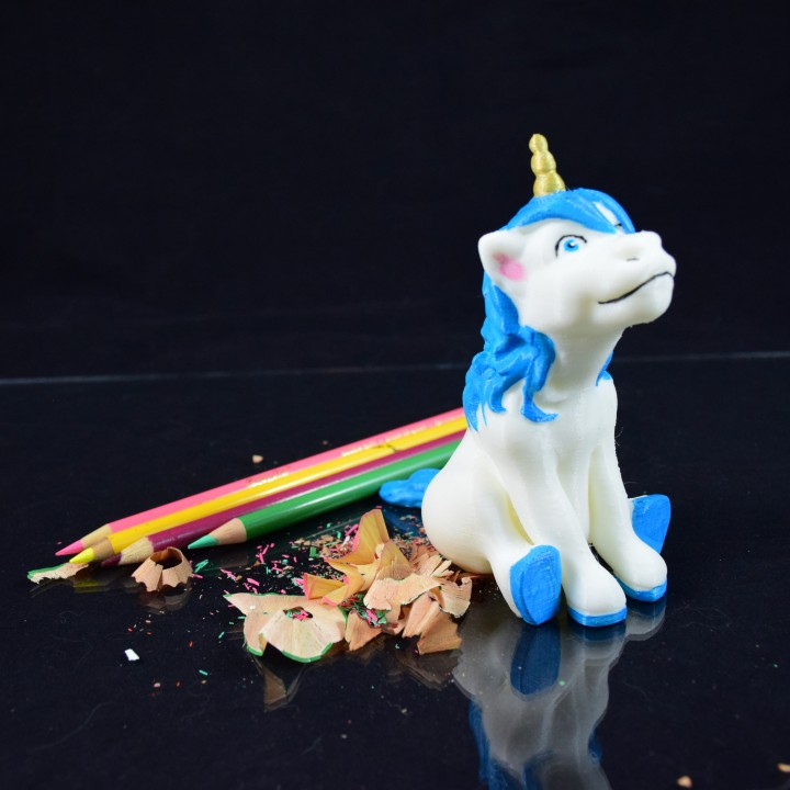 Sitting Unicorn Pencil Sharpener