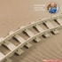 Curved Track (No2) - Euroreprap Railroad System image