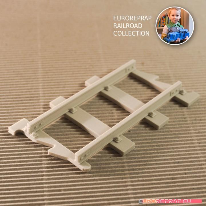 Straight Track (No1A) - Euroreprap Railroad System