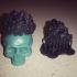 Vintage Skull Ring 3d model for 3d printing image