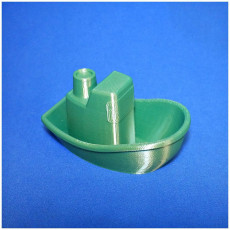 Picture of print of toy boat