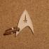 StarTrek keychain image