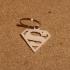 Superman keychain image