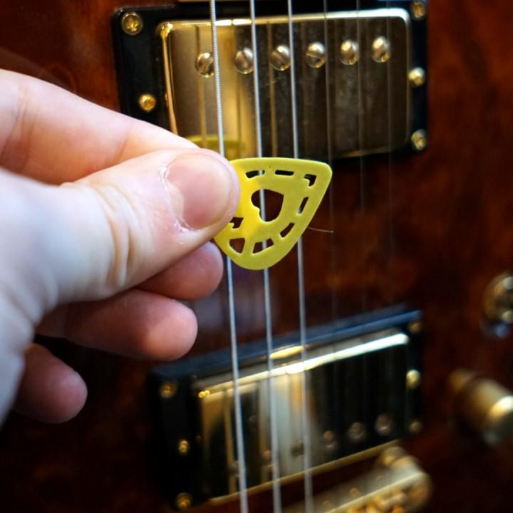 Queen of Hearts Guitar Pick