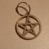 Pentagram keychain image
