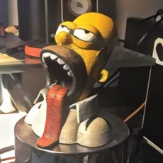 Homer Drooling