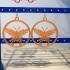 butterfly earring 1 image