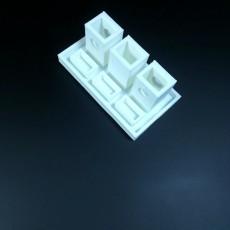 Picture of print of VIDGA triple rail endpiece