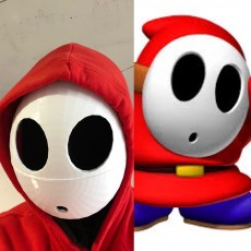 Shy Guy Mask - Super Mario Brothers