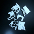 Honeycomb Stratocaster Body print image