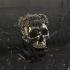Skull rose ring image