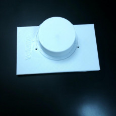 Picture of print of Light switch cover plate volume knob goes to 11