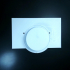 Light switch cover plate volume knob goes to 11 print image