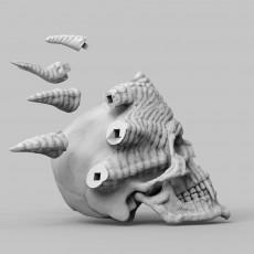 Horned Skull Ornament
