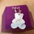 teddy bear earrings charm jewellery also avalible as multi colour image