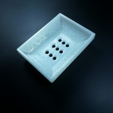 Picture of print of Simple Soap Dish with Drain