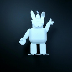 Picture of print of Mr. Easter Bunny