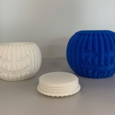 Picture of print of Pumpkontainer - 3D printed pumpkin container! 这个打印已上传 Philippe Barreaud