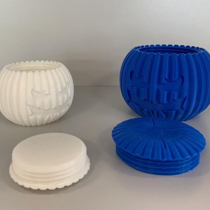 Pumpkontainer - 3D printed pumpkin container!