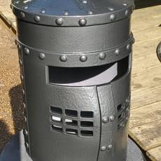 Picture of print of Monty Python: Black Knight Helmet