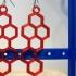 hexagon earrings image