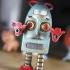 Robert the angry vintage robot image
