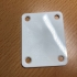 Replacement Neck Plate stratocast image