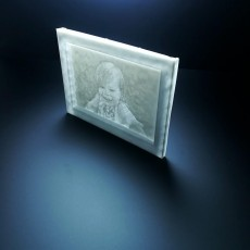 Picture of print of Window Lithophane Tool