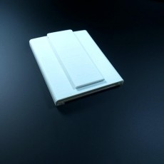 Picture of print of slim wallet with money clip