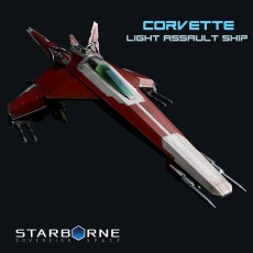 Corvette Light Assault Ship from Starborne