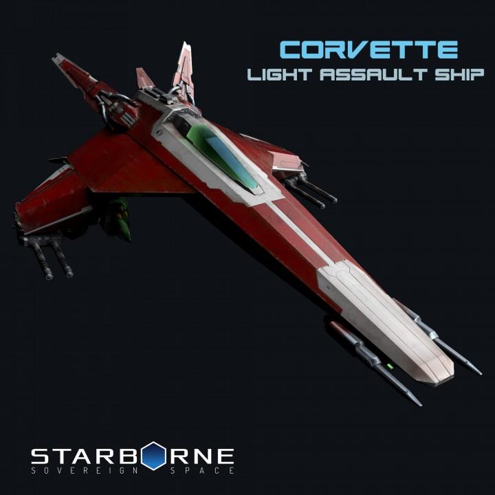 Corvette Light Assault Ship from Starborne