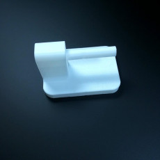 Picture of print of Curtain rod holder