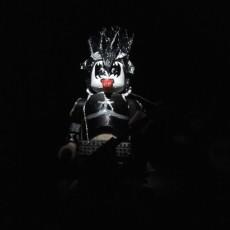 LEGO GIANT MASTER OF ROCK KISS DEMON BASS