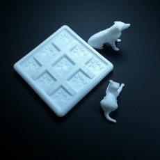 Picture of print of Tic-Tac-Toe - With Playing Shapes 这个打印已上传 Li WEI Bing