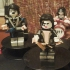 LEGO GIANT MASTER OF ROCK KISS GUITAR AND BASS image