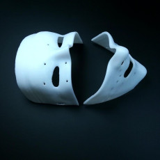 Picture of print of Purge Election Year Style Mask