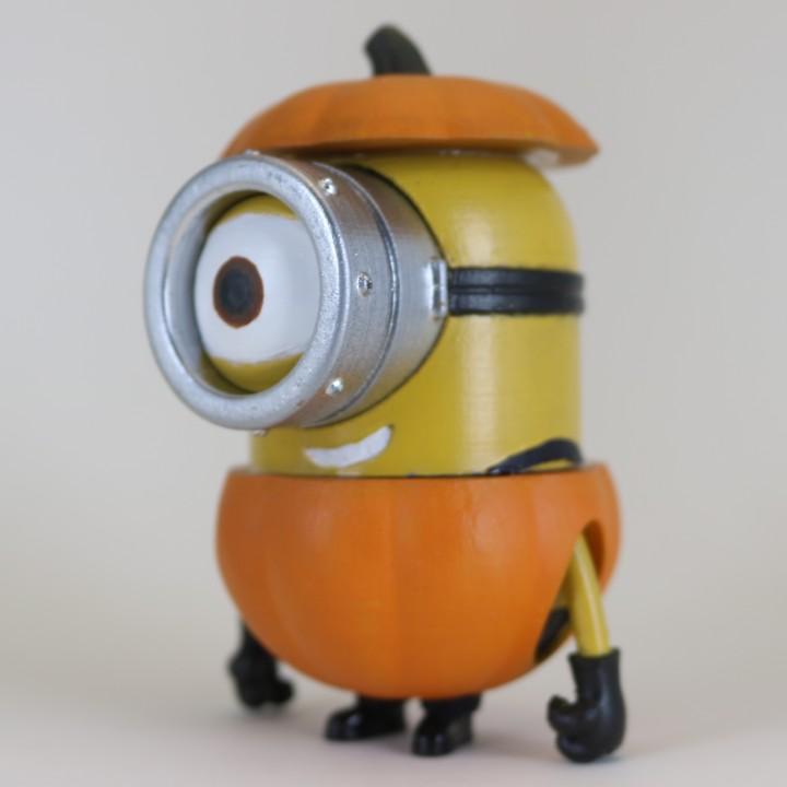 Minion Halloween Pumpkin Figure